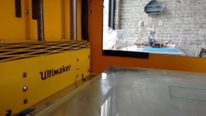 3D-printen kan met bv een UM1+