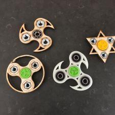 gemaakt tijdens onze workshops spinners maken
