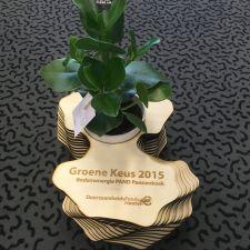 Deze is voor de winnaar van 2015, Pand Pannenkoek in Schalkwijk.