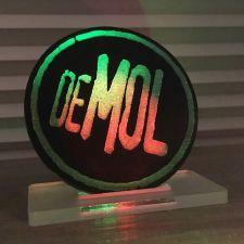 Zwarte Mol-vrijstelling in gekleurd licht